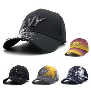 Neue NY Stickerei Herren 100% Baumwolle Baseballmütze Casual Dad Cap Frauen Outdoor Hohe Qualität Snapback Trucker Hut Casquette