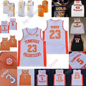 Tennessee Gönüllüler Basketbol Forması NCAA Koleji Williams Admiral Schofield Tobias Harris Josh Richardson Olivier Nkamhoua Uros Plavsic