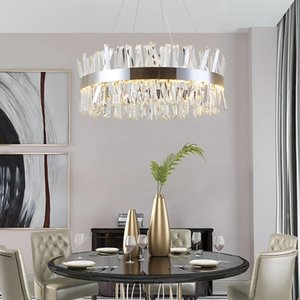 2020 Modern K9 Crystal ceiling chandelier for living Room bedroom led decor Designer Luxury Gold  Chrome indoor lighting