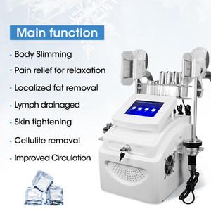 Vücut Zayıflama Cilt Sıkılaştırma Güzellik Salonu Ekipmanları Lazer Lipoliz Vücut RF 40 K Kavitasyon Mini Kriyo 360 Cryolipolisis Yağ Donma Makinesi