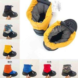 Inverno para baixo forma designer de luxo crianças sapatos inverno botas de inverno soprador Bombardeiro childrens grosso casaco para baixo jaquetas baby boy parka inverno