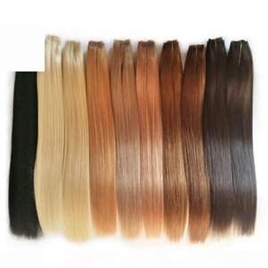 "Cuticle Aligned Hair Remy Human Hair Weave Brazilian Straight Hair 1 Bundles High Quality 14""16""18""20""22""24""26"