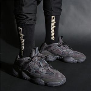 Skateboard Mens Calabasas Fashion Temporada 6 letra impresa Calcetines deportivos Calcetines Hip Hop XH1M3W