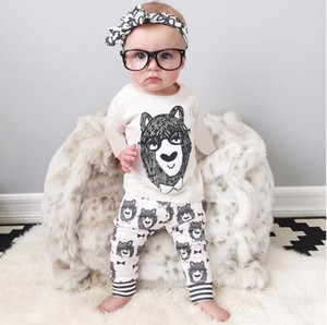 Spring and Autumn models hot little monster Batman baby foreign trade children cotton suit long-sleeved trousers