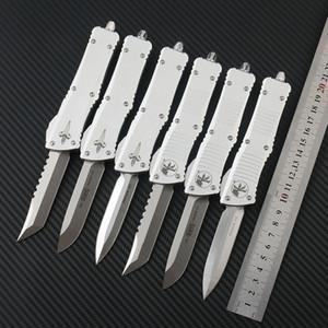 Microtech Troodon Otomatik Taktik Bıçak D2 Blade CNC T6-6061 Alüminyum Alaşım Kolu Açık Kamp Survive EDC Aracı Bıçak Cep Bıçaklar