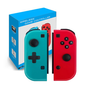 Wireless Bluetooth Pro Gamepad Controller Joystick per interruttore Game Impugnatura wireless Joy-con la maniglia destra e destra con scatola al minuto