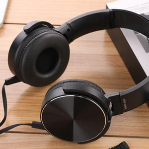 Erilles 2020 New Wired Headphone with earhook Foldable Stereo Earphone Gaming sound music With Microphone volume control headset Y1128