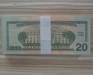 Euro giocattolo Prop Carta money 20 50 100 Dollar Bills Prezzi Bank Note Business Fake Paper Soldi per la raccolta
