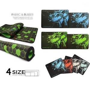 Mouse Pads & Wrist Rests Multi-size Blue Dragon Pad No-slip Natural Rubber Keyboard Cover Computer Gaming Mat Locking Edge Desk Mat1