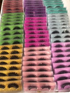 Large Stock Wholesale 3D Faux Mink Eyelashes Beautiful lashes 10Styles Volume Dramatic Lashes Best Seller Free Delivery