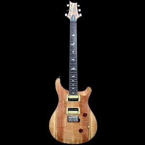 Alta Qualidade PRS SE EXÓTICO Custom Limited 24 6 Cordas Guitarra Elétrica, Spalted Maple Pequeno Tremolo Bridge
