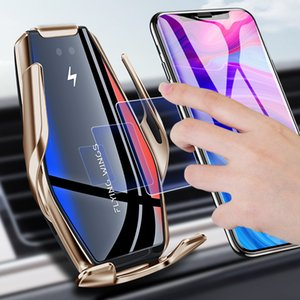 Universal Car Holder Charger Auto Infrared Detection Open Car Accessories Interior Holder