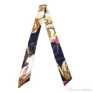 Cachecol impressão selvagem magia lenço de seda amarrado saco lidarinho pequeno lenço de fita lenço para bolsas muitos cor de pagamento por atacado para bolsas