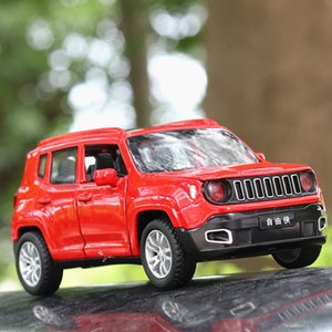 1:32 Jeep Renegad Metal Alloy Diecasts & Vehicles Miniature Scale Model Car Toy for Children