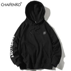 Chaifenko أزياء ماركة 2020 ربيع الخريف الرجال سوياتشيرتس عارضة الرجال الهيب هوب هوديس البلوز قمم