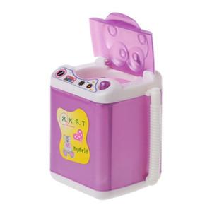 Envío gratis accesorios de muñeca Muebles lavadora Dispensador de agua para Barbie Doll House Baby Toys Furniture MI BBYQKE