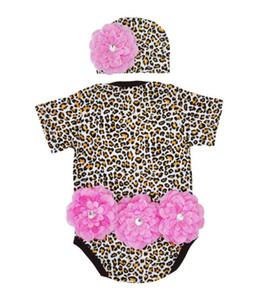 Infant Baby Girls Jumpsuit Hat Set Zebra Stripes Short Sleeve Cotton Romper Bodysuit Newborn Outfit Clothes pink size 70 90 100