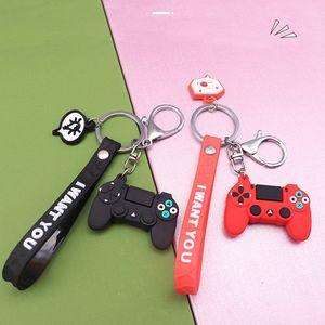 Cartoon Game Controller Keyring Cute Gamepad Boyfriend Joystick Key Chain Men Boy Bag Pendant Gift Keychain YHM663