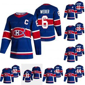 Gençlik Montreal Canadiens 2021 Ters Retro Carey Fiyat Shea Weber Paul Byron Karl Alzner Brendan Gallagher Dro0uin Toffoli Tatar Jersey