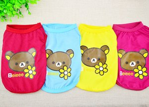 Short spring and summer, cat pet bear clothes next to factory jackets Dog apparel
