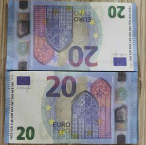 Accessoire euro copine billet billet monstre monnaie 20 étage identifie billets de banque bébé enfants apprenant jouets présents éducation apprendre argent monnaie skwjs