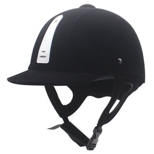 Cross border hot equestrian supplies equestrian helmets black riding helmets ventilating winter harness supplies riding protection