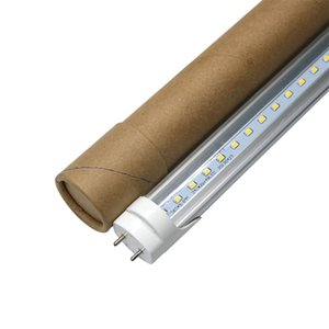 Edison2011 10PCS T8 LED Tube Light AC85-265V 3ft 4ft 5ft Fluorescent Lights nergy Saving Fixture for Garage Work Shop
