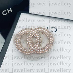 C Mektup Tasarımcısı Broş Tasarımcı Takı Elmas Broşlar Pin Püskül Kadınlar Broş Moda Giyim Dekorasyon