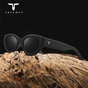 Óculos de sol de desenhador de óculos Tacloft Oval Polarized Sunglasses Unisex Memory-Acetate Quadro Luxo óculos de sol para homens / mulheres Madrid