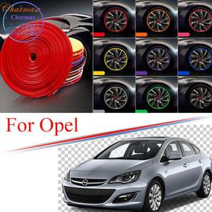 8m Multi-Farben Auto Rad Nabe RIM-Zierleiste für Opel Antara Insignia Astra GTC Monza Randschutz Ring Reifenstreifen Guard Gummiaufkleber