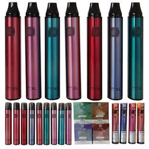 Auto Vape Stift 1.8Ohm Rauch Nahrungsmittel-Snack-Maschinen-Gerät Einweg-Dampf 3,5 ml 1500 Puffs 1600 Puffs Posh XL