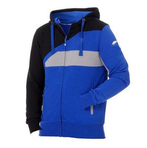 Men's Zipper Hoodies MOTO GP Cotton Jacket For Factory Sport Riding Motorcycle Sweatshirt Windproof Motocross Jacket
