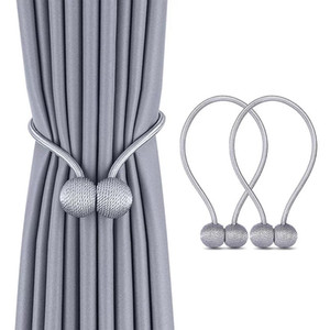 Magnetic Curtain Tieback Buckle Clips High Quality Curtain Holder Hook Clips Curtain Home Accessories Hot Sale