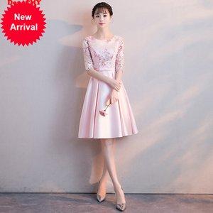 Dress da fiore corto di Dongcmy Party New 2020 Abiti da ballo da donna a colori rosa