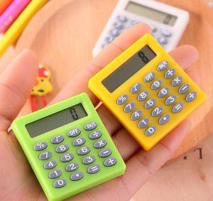 Cute Mini Student Exam Learning Essential Small Calculator Portable Color Multifunctional Small Square 8 Digit Calculator sqczJPL