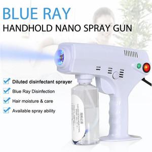 2020 New Hot Handheld Cheveux électriques Nano Spray Pistolet Blue Ray Désinfectant Stérilisateur 1200W Big Power Nettoyage des ménages