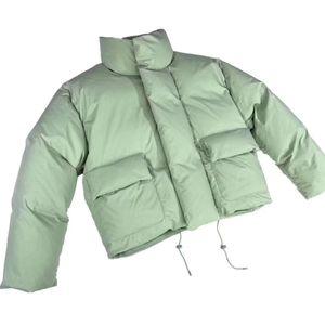 Pares semelhantes comparar com artigos de jaqueta verde vriggil mint men abaixar expedição outwear zíperes Qualidade de alta moda casaco quente 20fw ganhar ocae
