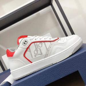 Männer Frauen Casual Sport Schuhe Niedrige Oberteil Weiß Rote Bottoms Glatte Kalbsleder-Staubbeutel und graue Schnürsenkel inklusive Plus Größe 46 Luxus-Turnschuhe