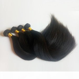 Unprocessed Brazilian Virgin Human Hair 8-28inch Cheap factory price Silky Straight hair Peruvian Malaysian Indian remy Hair extensions