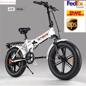 US STOCK 500W 20-inch Fat Tire Electric Bicycle Mountain Beach Snow Bikes for Adults Aluminum Electric Scooter 7 Speed Gear E-Bike W41217478