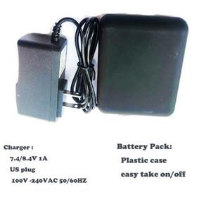 Аккумуляторная батарея 7,4 В /8.4В и зарядное устройство для обогреванной оболочкой ORORO.