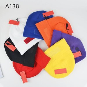 Cappello a maglia Unisex Cappello di alta qualità Lettere di qualità ricamata Tappo di etichetta per la donna Colore uomo Outdoor Hip-hop Berretto casual con spedizione gratuita
