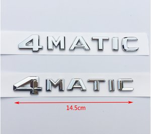 1x ABS 4Matic Abzeichen Auto Hinterer Emblem Aufkleber für Mercedes Benz W117 CLA45 W205 C63 W212 E63 W207 W176 A45 X156 GLA45 AMG Styling