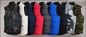 2020 модный бренд мужской зимний жилет роскошный классический пункт жилет дизайнер Parka Coats толстая куртка твердая молния без рукавов Luoluone пальто