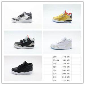 Chaussures de basket-ball de basketball pour enfants de bébé J3 de bébé