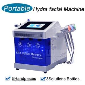 Новый Hydra Facial Machine Peeling DermaBrasion Faceling Feeling Bio подъемная поверхность Ультразвуковой корки Гидрафафальна