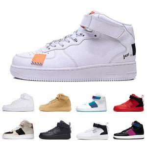 force 1 af1 forces one Ucuz Yardımcı Programı OG Yüksek Moda Platformu Erkek Kadın Koşu Ayakkabıları Sadece Kırmızı Iyi Bir Oyun Koşuları Üçlü Siyah Beyaz Erkek Spor Sneakers