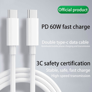 샤오 미 Redmi 참고를위한 USB 타입 C 케이블에 대한 PD 데이터 케이블 USB (C)는 8 프로 급속 충전 4.0 PD 60W 빠른 맥북 프로 S11 충전기 케이블 충전