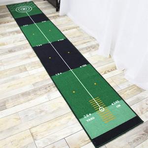 Tapis de golf Metting Tapis d'épaisseur Smooth Pratique Placez le tapis pour la maison de golf de golf de golf de golf de golf d'intérieur 201124