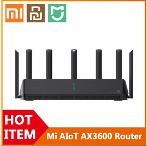 [To US ] Xiaomi Mi AIoT Router AX3600 Wifi 6 Dual-Band 2976 Mbs Gigabit Rate WPA3 Security Encryption Mesh Wifi External Signal Amplifier